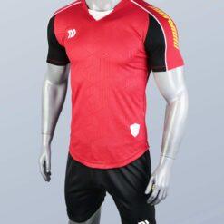 Áo bóng đá không logo cao cấp BULBAL LANZA màu Đỏ