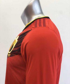 Áo đấu Tay dài Đội tuyển Bỉ màu Đỏ mùa giải 20-21