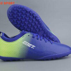 Giày đá banh Đế đinh TF EBET EB205N Sân cỏ nhân tạo màu Xanh Bích mới