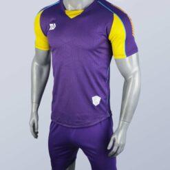 Áo bóng đá không logo cao cấp BULBAL LANZA màu Trắng
