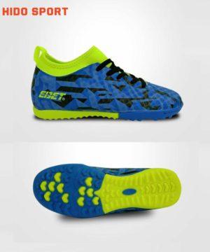 Giày đá banh Đế đinh TF EBET EB6312 Sân nhân tạo màu Xanh Chuối mới