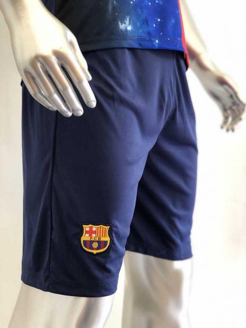 Quần áo bóng đá BARCELONA CULES màu Xanh Đỏ mùa giải 20-21