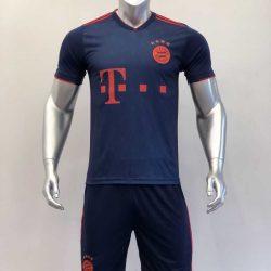 Quần áo bóng đá BAYERN MUNICH màu Xanh Đỏ mùa giải 19-20