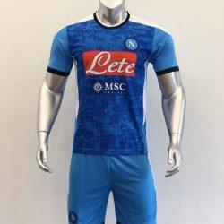 Quần áo bóng đá NAPOLI màu Xanh Da mùa giải 20-21