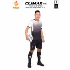 Áo bóng đá không logo cao cấp CLIMAX màu Vàng mới