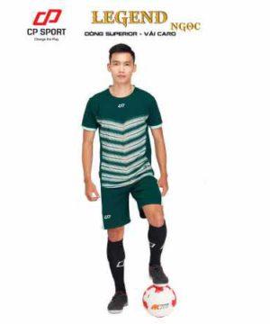 Áo bóng đá không logo cao cấp LEGEND màu Cam mới