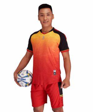Áo bóng đá không logo cao cấp UV EGAN-PROFIT màu Đỏ Đô mới