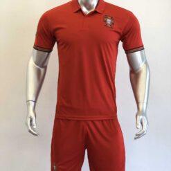 Áo đấu  Đội Tuyển Bồ Đào Nha màu Đỏ mùa giải 20-21