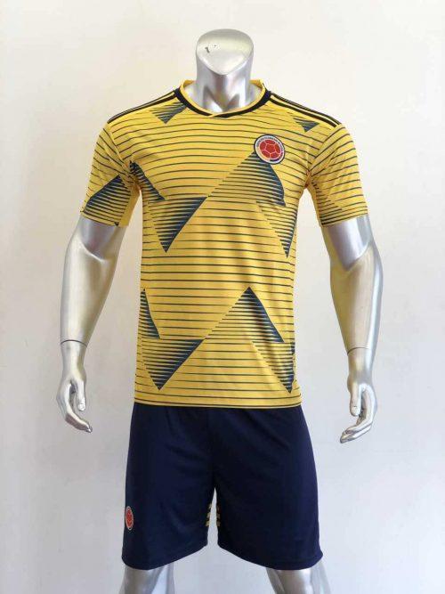 Áo đấu Đội Tuyển Colombia màu Vàng mùa giải 20-21