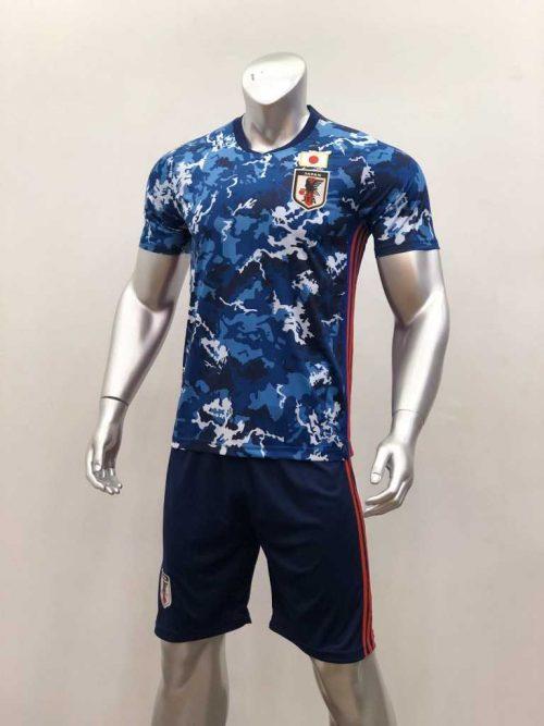 Áo đấu Đội tuyển Nhật Bản màu Xanh Camo mùa giải 20-21