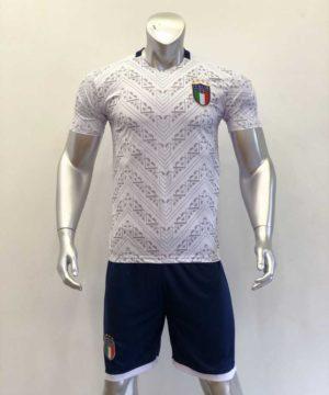 Áo đấu Tay dài Đội tuyển Italia màu Xanh Bích mùa giải 20-21
