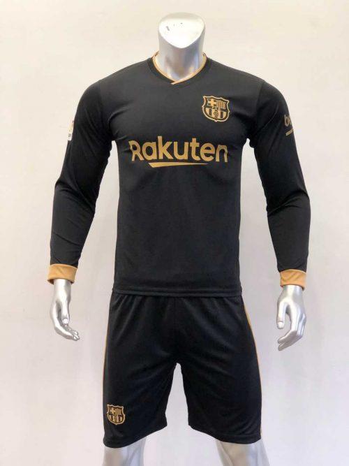 Quần áo bóng đá BARCELONA màu Xanh Sọc Đỏ mùa giải 20-21