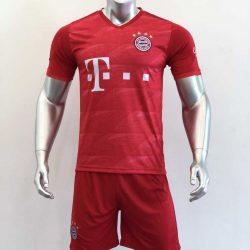 Quần áo bóng đá BAYERN MUNICH màu Đỏ mùa giải 19-20