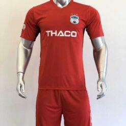 Quần áo bóng đá HAGL màu Đỏ mùa giải 20-21