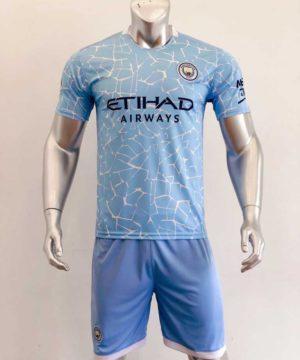 Quần áo bóng đá Manchester City màu Xanh Da mùa giải 20-21