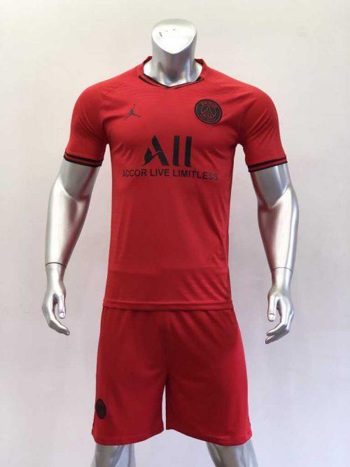 Quần áo bóng đá PSG màu Đỏ mùa giải 20-21