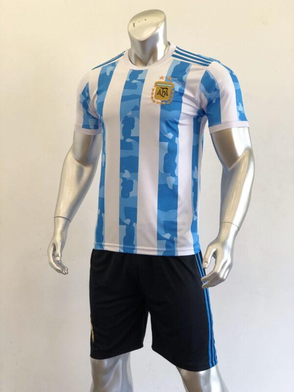Áo đấu Đội tuyển Argentina màu Trắng Sọc Xanh mùa giải 20-21