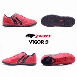 Giày đá banh Đế Đinh TF PAN VIGOR 9 Sân cỏ nhân tạo Màu Đỏ