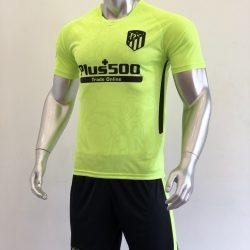 Quần áo bóng đá Atletico Madrid Xanh Chuối mùa giải 20-21