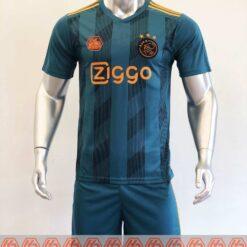 Quần áo bóng đá hàng Thái cao cấp AJAX màu Xanh Rêu 2020