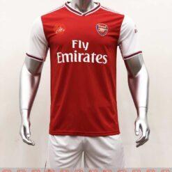 Quần áo bóng đá hàng Thái cao cấp ARSENAL màu Đỏ 2020