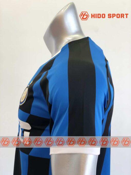 Quần áo bóng đá hàng Thái cao cấp INTER MILAN màu Xanh Sọc Đen 2020