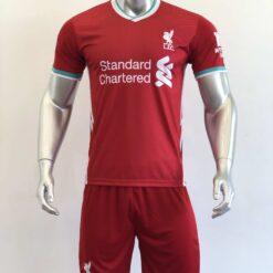 Quần áo bóng đá Tay dài Liverpool màu Xám mùa giải 20-21
