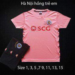Quần áo bóng đá Trẻ Em CLB HÀ NỘI FC màu Hồng 20-21
