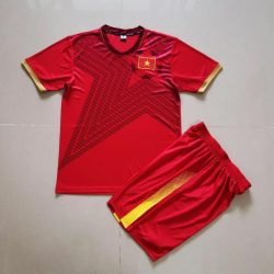 Quần áo bóng đá Trẻ Em Đội Tuyển VIỆT NAM màu Đỏ 20-21