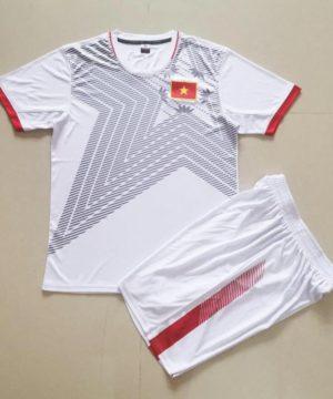 Quần áo bóng đá Trẻ Em Đội Tuyển VIỆT NAM màu Trắng 20-21