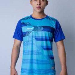 Áo bóng đá không logo cao cấp IWIN COOL A01 màu Đen mới