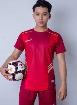 Áo bóng đá không logo cao cấp IWIN COOL A02 màu Đen mới