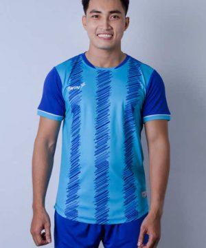 Áo bóng đá không logo cao cấp IWIN COOL-ZOZO Z01 màu Trắng mới