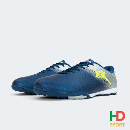 Giày đá banh Đế đinh TF IWIN IMPRO 301 Sân cỏ nhân tạo màu Xám Xanh mới