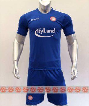 Quần áo bóng đá CLB HỒ CHÍ MINH màu Xanh Bích mùa giải 20-21