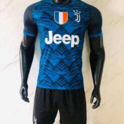Quần áo bóng đá Juventus màu Xanh mùa giải 20-21