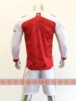 Quần áo bóng đá Tay dài Arsenal màu Đỏ mùa giải 19-20