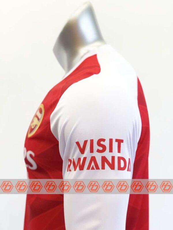 Quần áo bóng đá Tay dài Arsenal màu Đỏ mùa giải 20-21