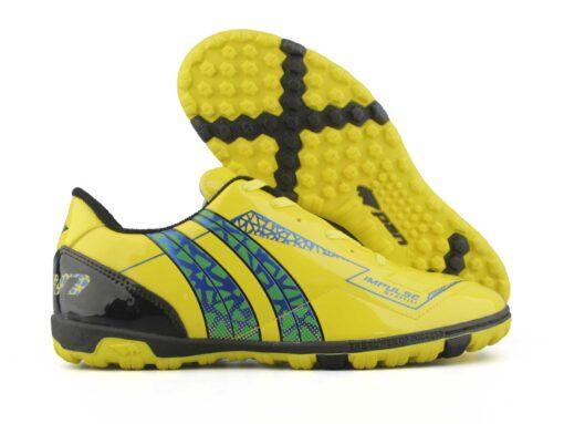 Giày đá banh Đế đinh TF Pan IMPULSE GRAFFITI Sân cỏ nhân tạo Màu Đen mới