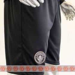 Quần áo bóng đá Tay dài Manchester City màu Xanh Đen mùa giải 20-21