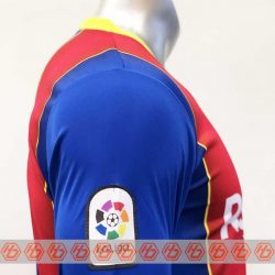 Quần áo bóng đá Tay dài BARCELONA màu Đỏ mùa giải 20-21