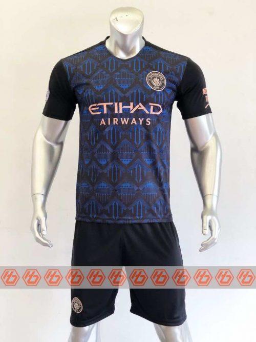 Quần áo bóng đá Manchester City màu Xanh Đen mùa giải 20-21