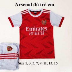 Quần áo bóng đá Tay Dài Trẻ Em CLB BARCELONA Sọc Đỏ