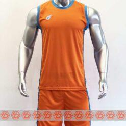 Quần áo bóng rổ cao cấp CAMO màu Cam