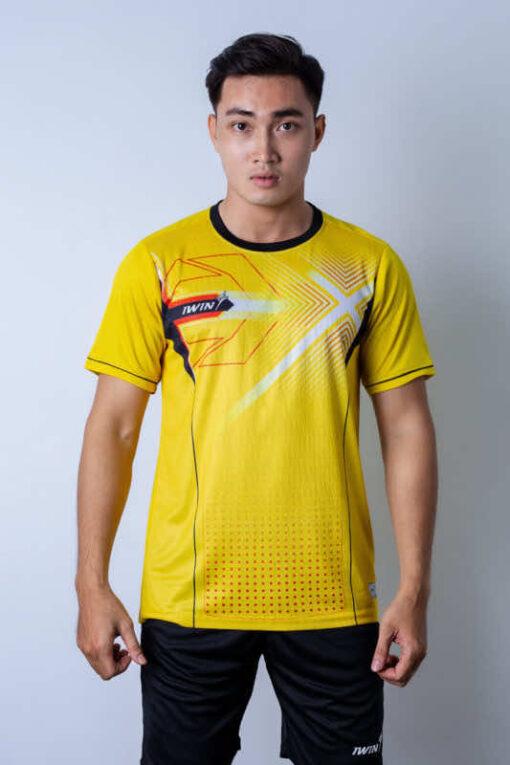 Áo bóng đá không logo cao cấp IWIN COOL-STAR S02 màu Xanh Bích mới