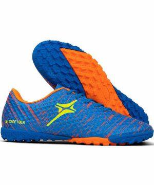 Giày đá banh Đế đinh TF IWIN IMPRO M01 Sân cỏ nhân tạo màu Xanh Đen mới