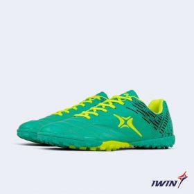 Giày đá banh Đế đinh TF IWIN IMPRO M02 Sân cỏ nhân tạo màu Xanh Ngọc mới