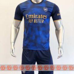 Quần áo bóng đá Arsenal màu Xanh mùa giải 20-21