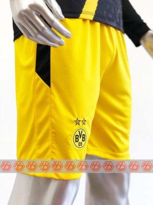 Quần áo bóng đá Tay dài DORTMUND màu Đen mùa giải 20-21