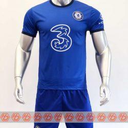 Quần áo bóng đá Chelsea màu Xanh Bích mùa giải 20-21
